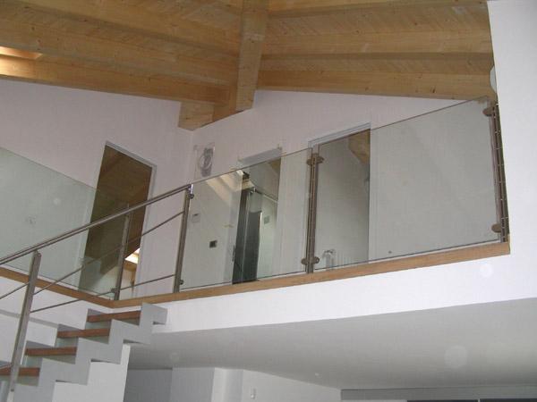Scale per interno ed esterno e corrimano in ferro battuto ed acciaio inox r2 officina fabbrile - Scale d interni ...